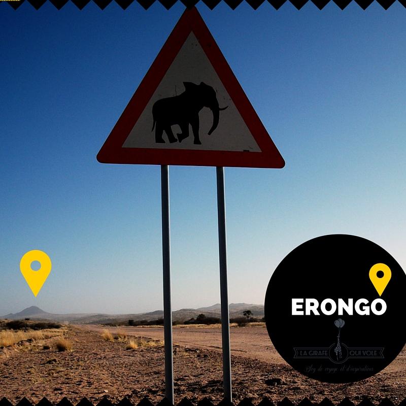 région namibie