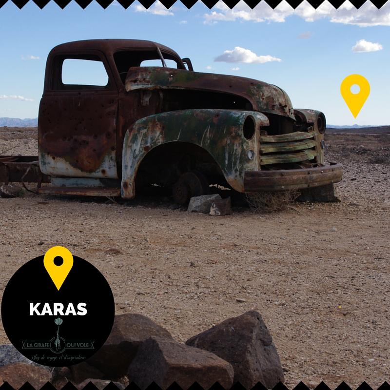 karas grand sud région namibie