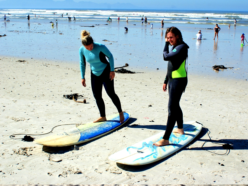 muizenberg initiation surf cape town afrique du sud