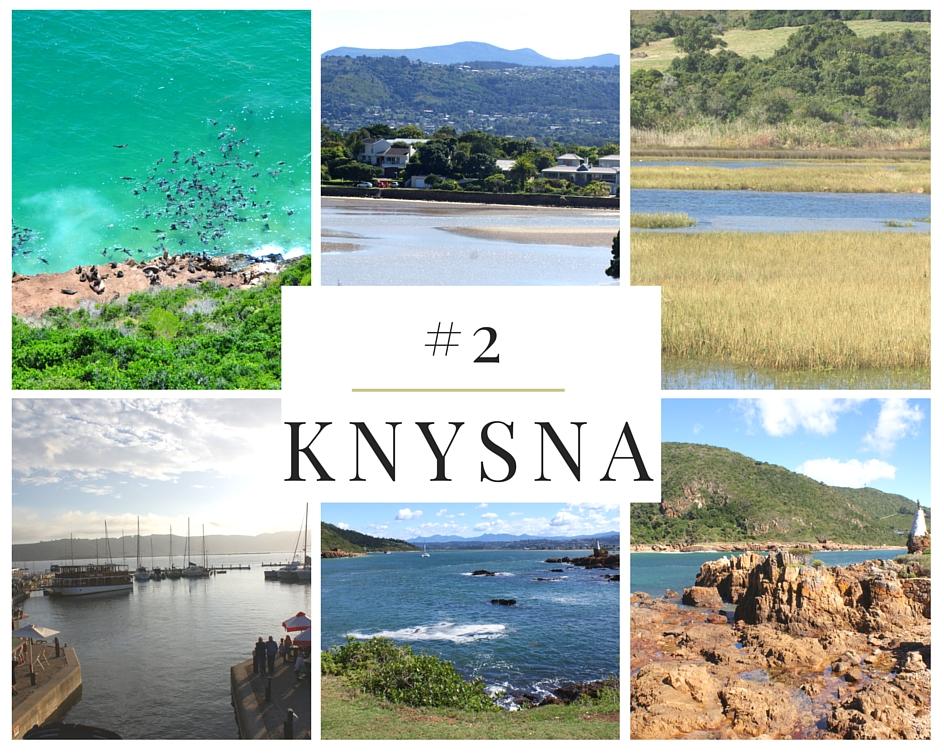 knysna route des jardins afrique du sud