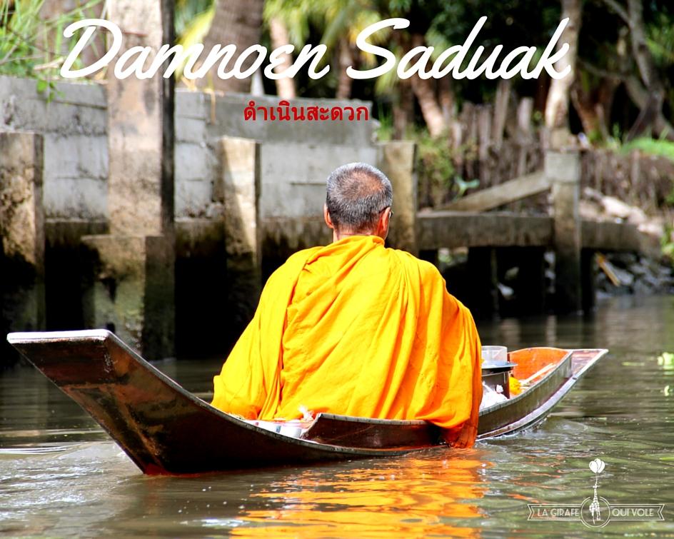 marché flottant thailande