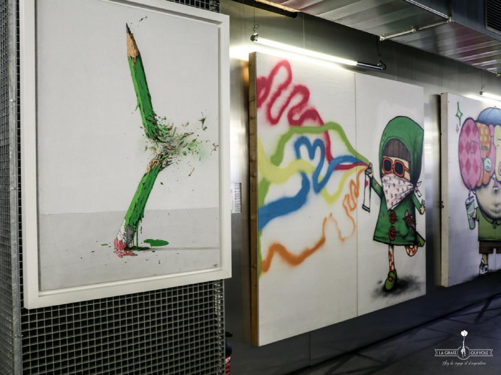 école art42 paris street art