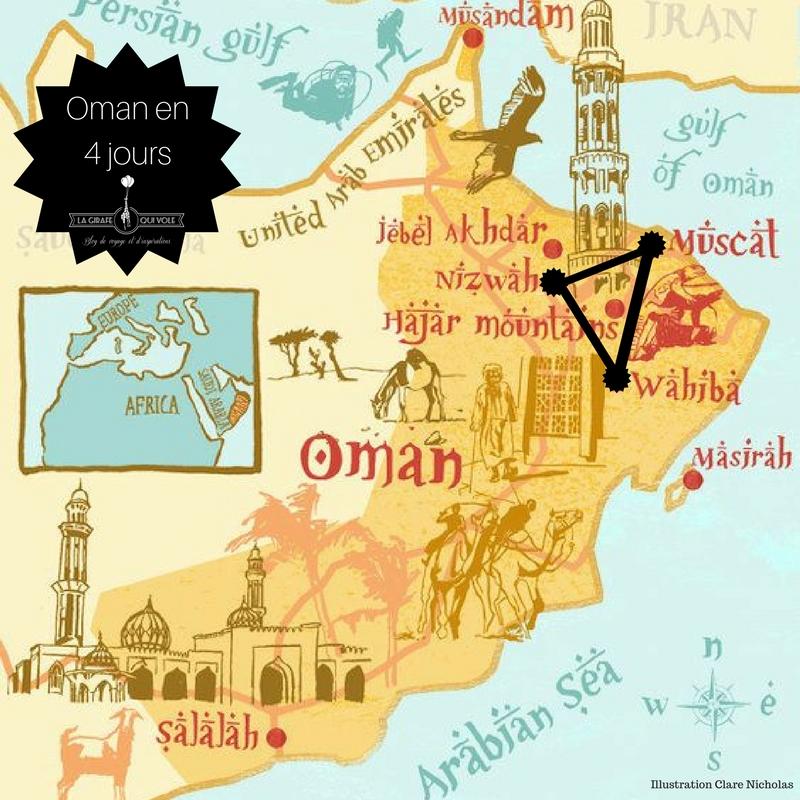voyage oman blog la girafe qui vole