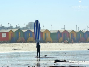 muizenberg initiation surf cape town afrique du sud