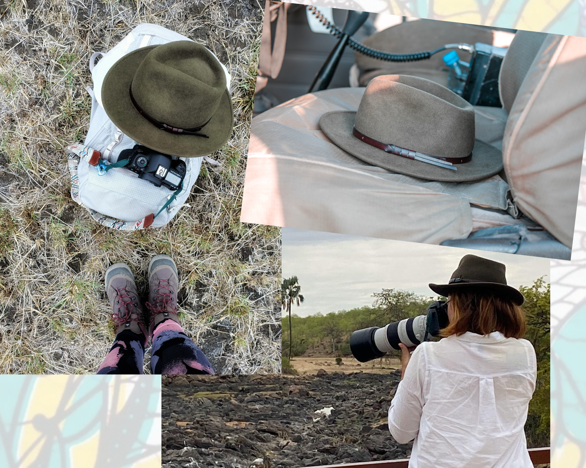 chapeau safari