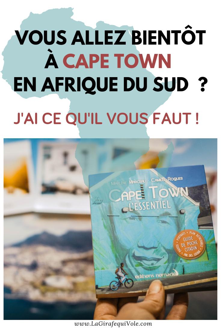 guide voyage Cape Town en Afrique du sud