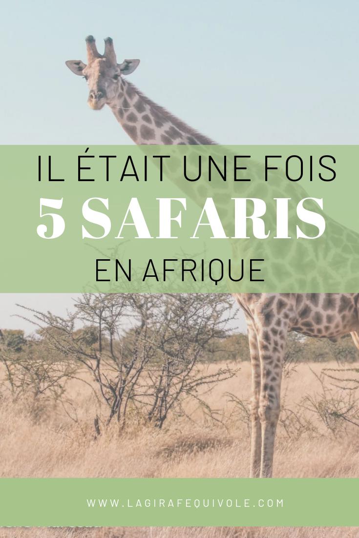 safaris Afrique