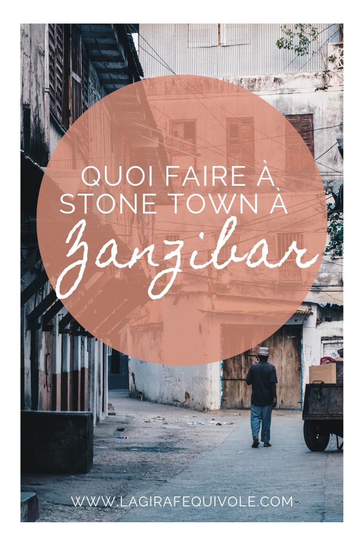 stone town zanzibar tanzanie