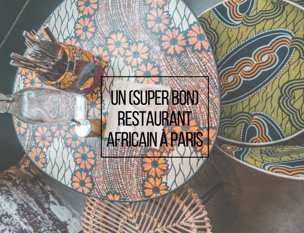 restaurant BMK Paris Bamako