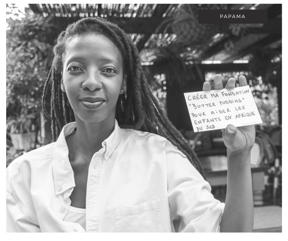 portrait rêveur afrique du sud