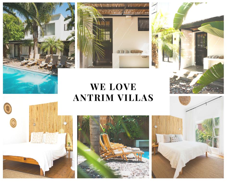 Cape Town afrique du sud guesthouse Antrim villas