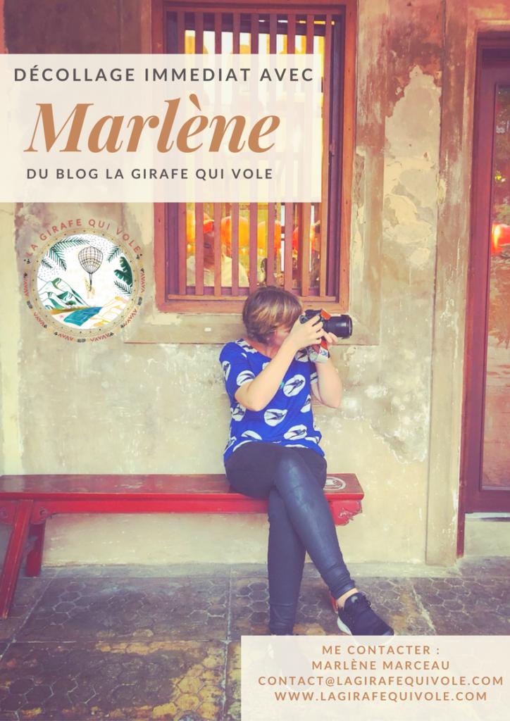 Marlène blog la girafe qui vole