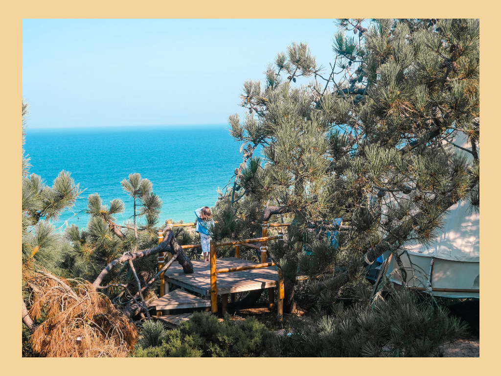 glamping dream sea surf camp Portugal