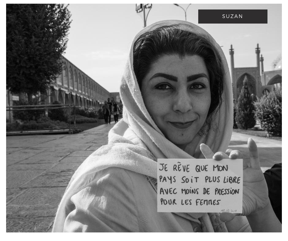 portraits de rêveurs en iran