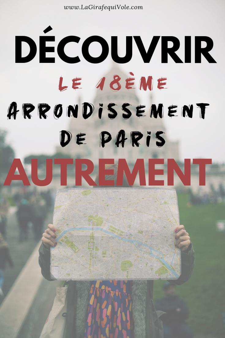découvrir le 18ème arrondissement à Paris