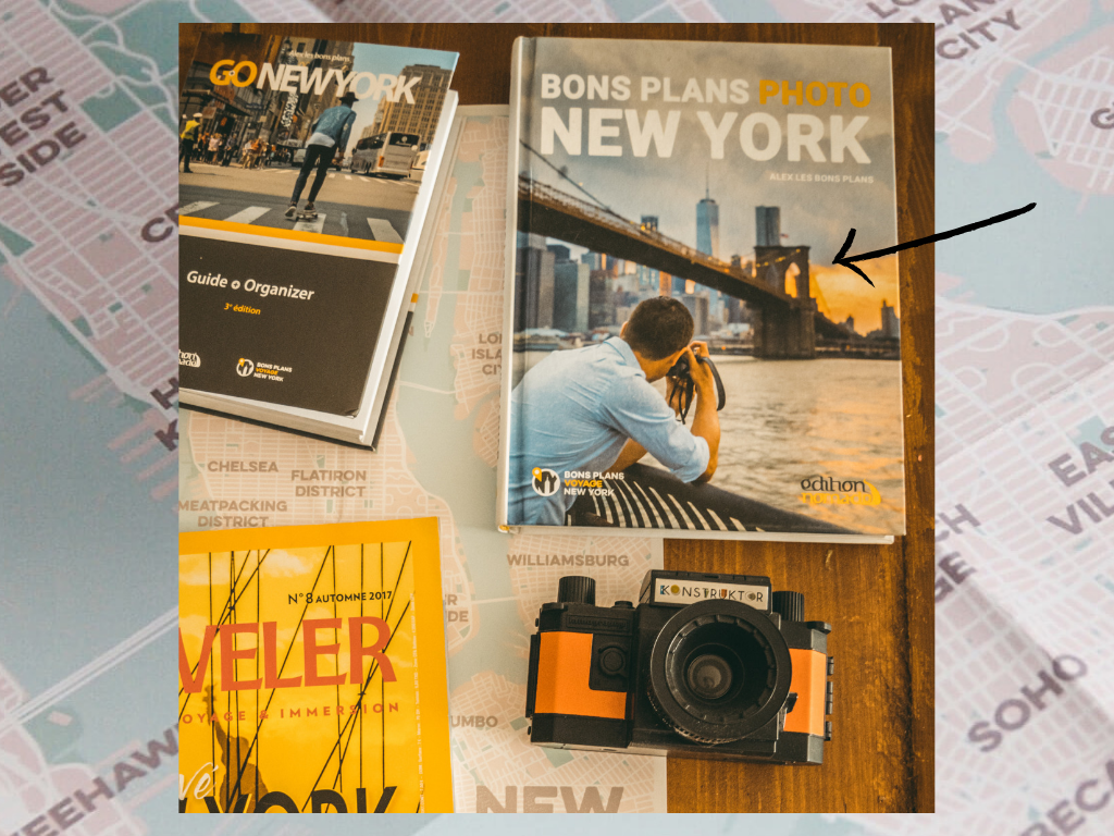 new York livre bons plans photos