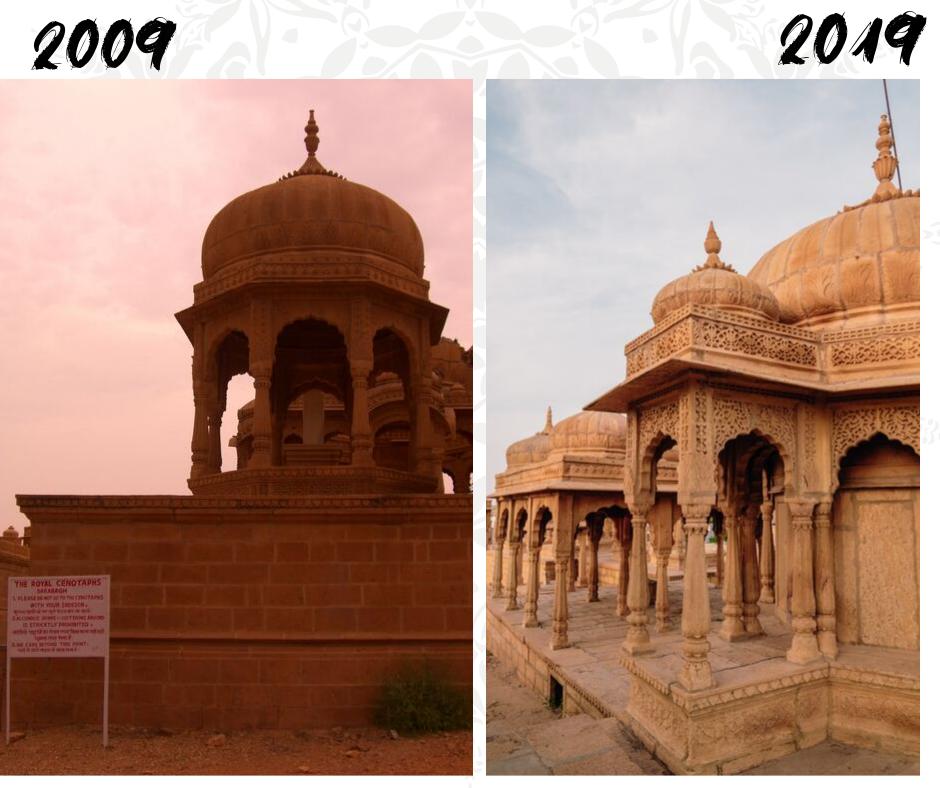 voyage en Inde 10 ans après