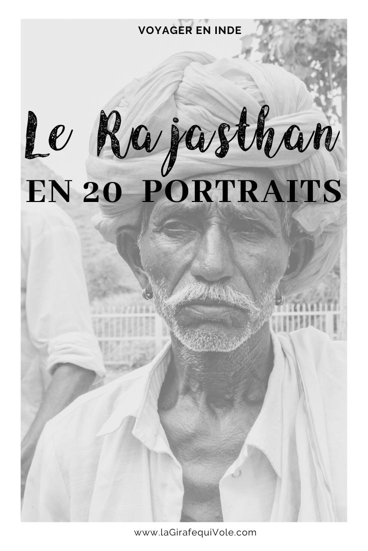 portrait voyage Inde rajasthan