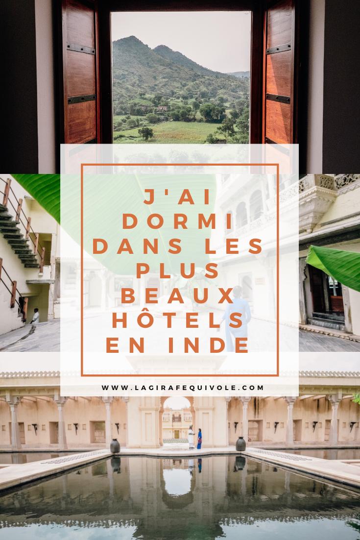 hôtels Rajasthan en Inde